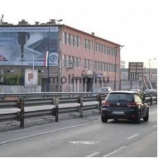 Molino-2018.március.Liszt Ferenc repülőtérre vezető út – Gyömrői út centrum irányába
