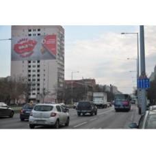 Molino-2018.március.Szentendrei út 13. Árpád híd irányába baloldalt