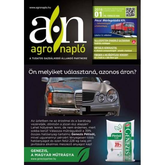 Agro Napló. 1/2 felület-2021