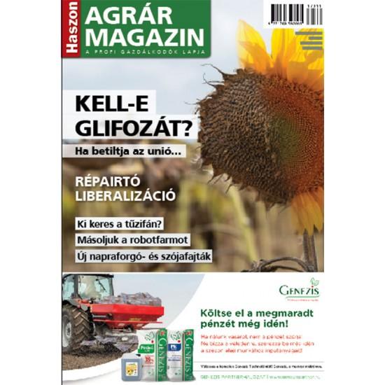 Haszon Agrár Magazin-2020.