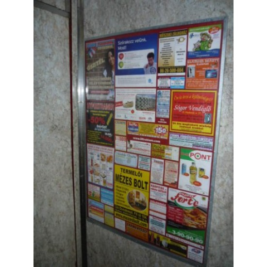 Lift reklám.Budapest-Buda-2021