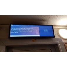 Lift fölötti képernyők.10 kerület-2020
