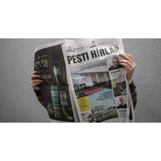 Pesti Hírlap-2021.rovatolt megjelenés