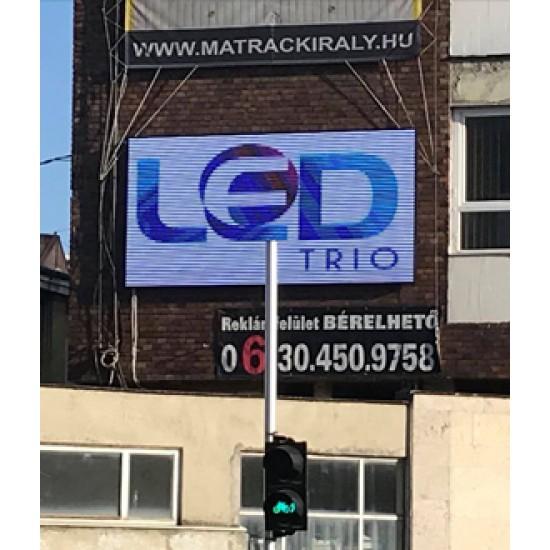 LED-fal-Győr-2021