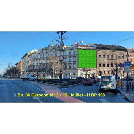 """Molinó-06.Oktogon tér 3 –""""B"""" felület-2021.május 2hét"""