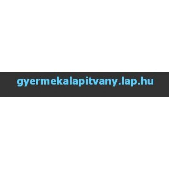 lap.hu.Gyermekalapítvány