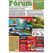 Fórum újság online banner