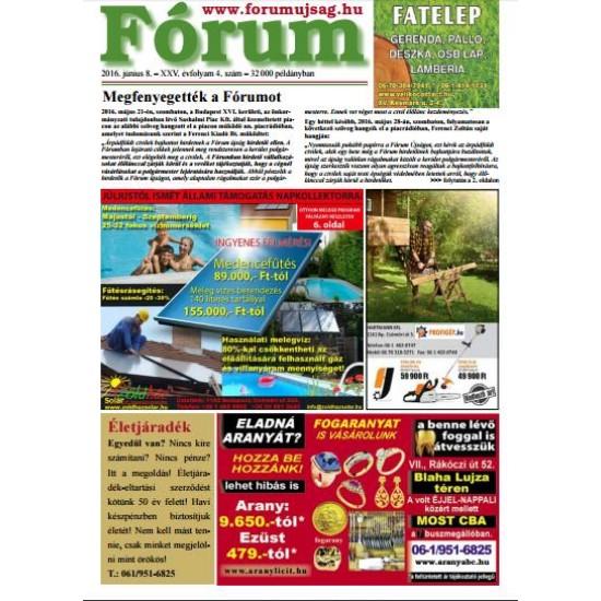 Fórum újság 1/16 oldal-2020.